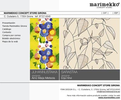 Marimekko concept store Girona